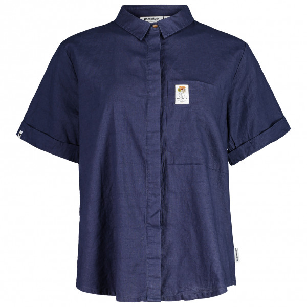 Maloja - Womens Frauenmantelm. - Shirt Size L  Blue