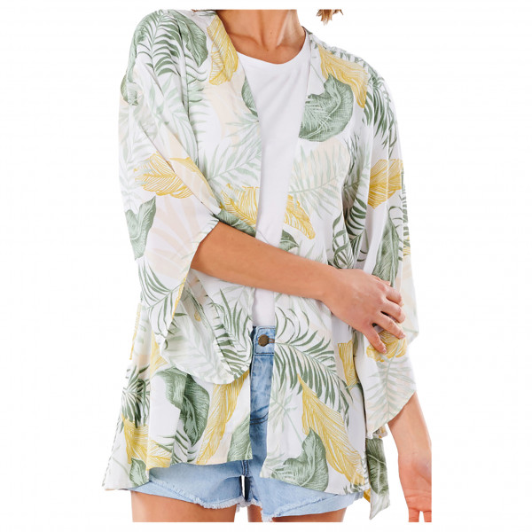 Rip Curl - Women's Coastal Palms Kimono - Bluse Gr L;M;S;XL;XS grau/weiß/beige GSHED9