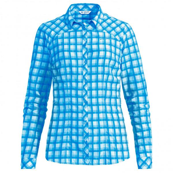 Vaude - Womens Tacun L/s Shirt - Blouse Size 36  Blue/turquoise