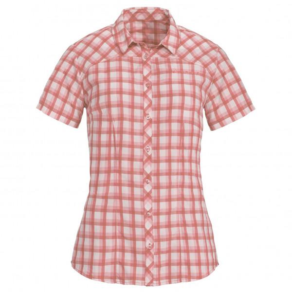 Vaude - Women's Tacun Shirt - Bluse Gr 38 beige/rot/grau 40881