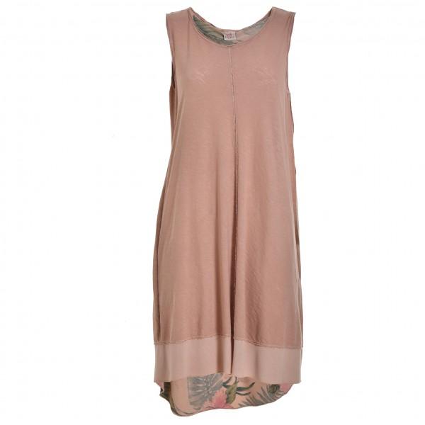 Deha - Women´s Tee Dress Sleeveless - Kleid Gr S beige/grau