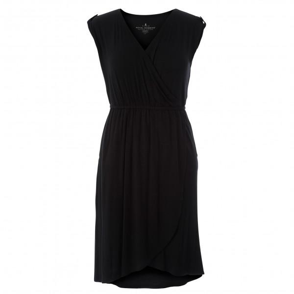 royal robbins - women's noe cross-over dress - jurk maat m, zwart