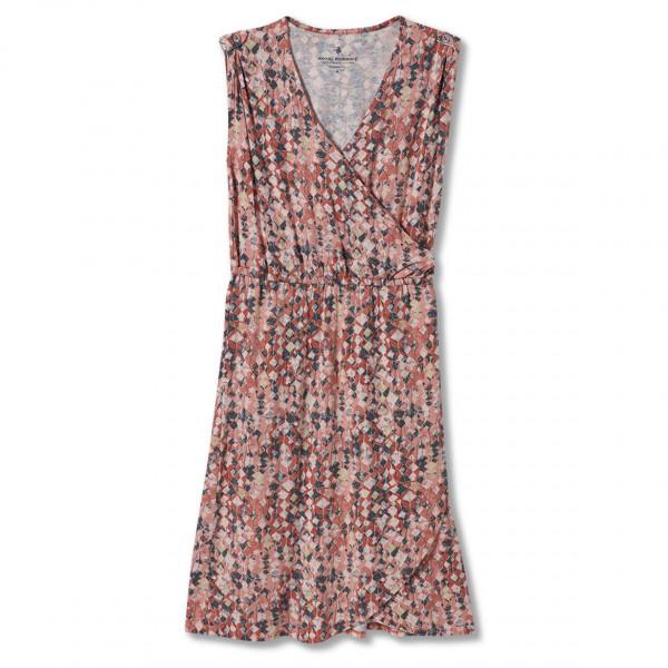 royal robbins - women's noe cross-over dress - jurk maat s, grijs