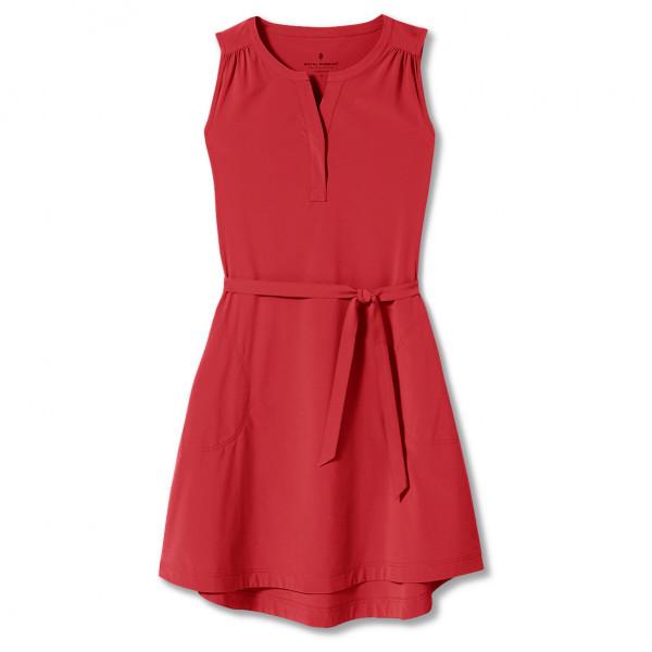royal robbins - women's spotless traveler tank dress ii - jurk maat m, rood/roze