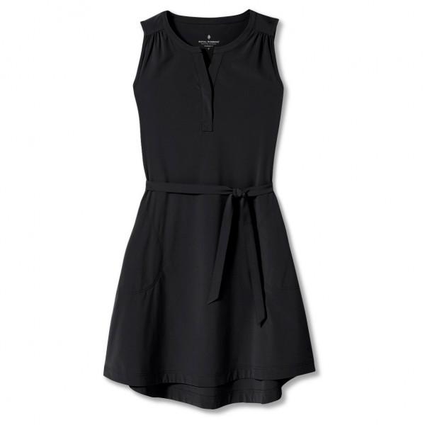 royal robbins - women's spotless traveler tank dress ii - jurk maat xl, zwart