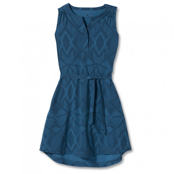 royal robbins - women's spotless traveler tank dress ii - jurk maat m, blauw