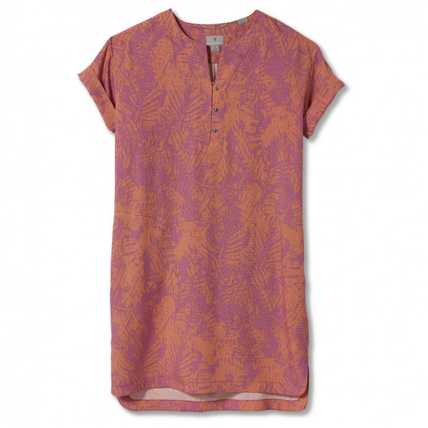 royal robbins - women's bergen dress - jurk maat s, roze/rood