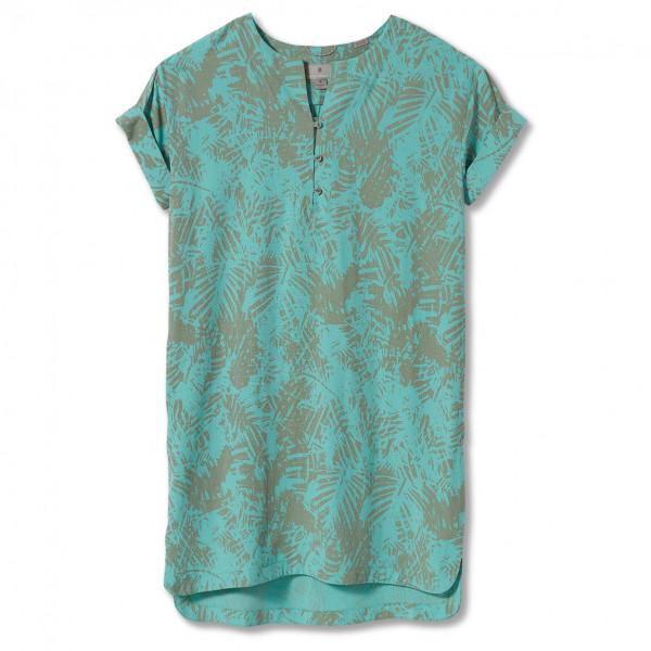 royal robbins - women's bergen dress - jurk maat xs, turkoois/grijs