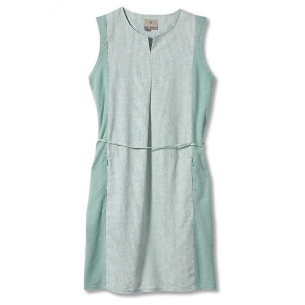royal robbins - women's hempline dress - jurk maat l, grijs