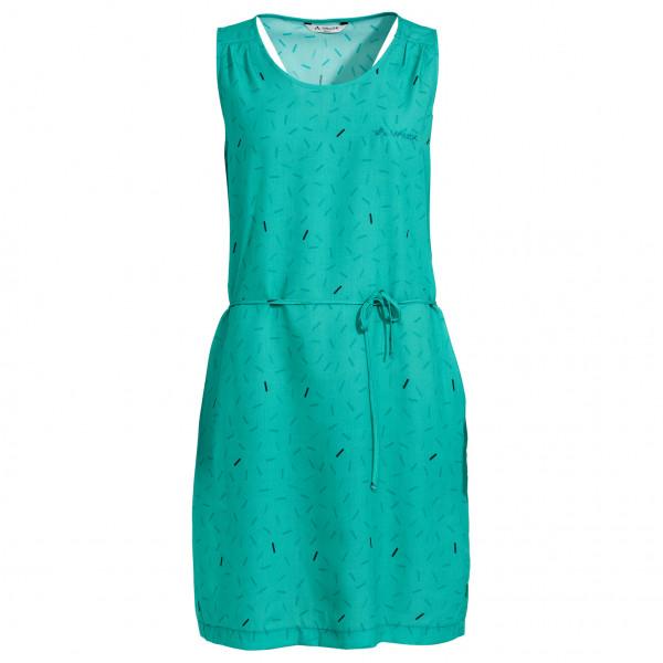 Vaude - Womens Lozana Aop Dress Iii - Dress Size 40  Turquoise