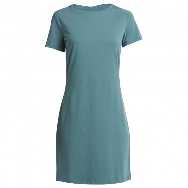 #Lolë – Women's Luisa Dress – Kleid Gr L türkis/grau#