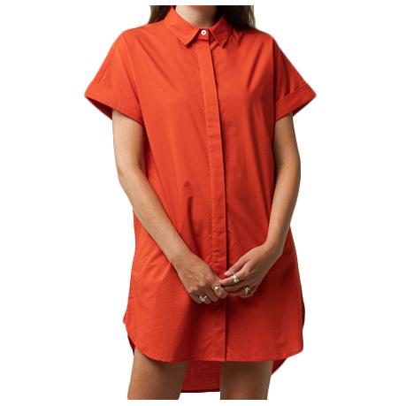 MELAWEAR - Women's Amoli Blusenkleid - Kleid Gr L rot 151-501-tom-L