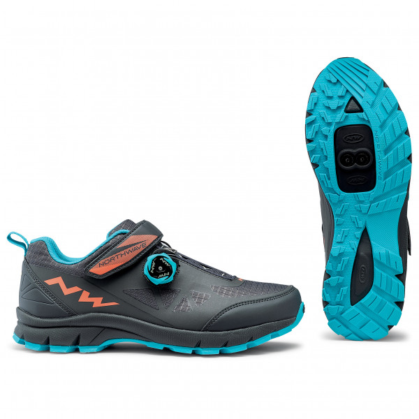 Northwave - Corsair Woman - Cycling Shoes Size 43  Turquoise/black/grey
