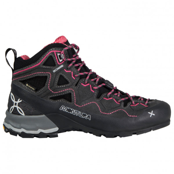 Montura - Womens Yaru Tekno Gtx - Approach Shoes Size 8 5  Black