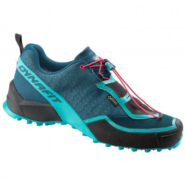 Dynafit - Womens Speed Mtn Gtx - Trail Running Shoes Size 4 5  Turquoise/black/blue