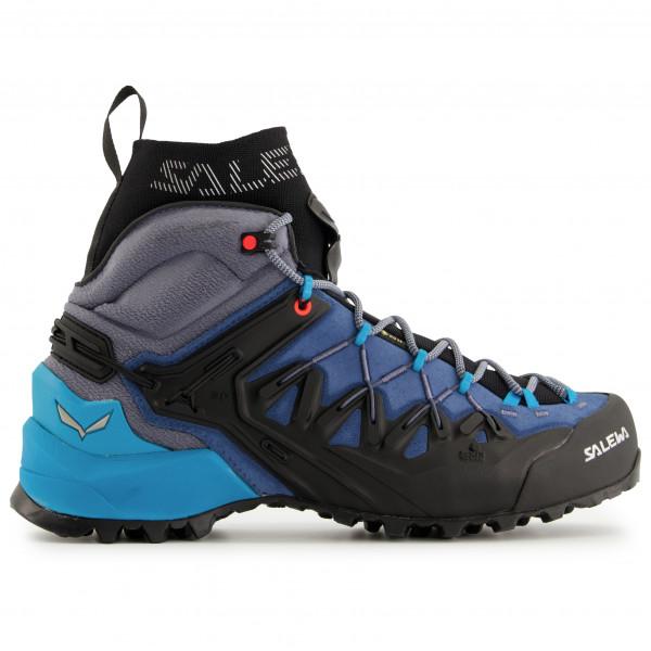 Salewa - Womens Wildfire Edge Mid Gtx - Approach Shoes Size 4  Black