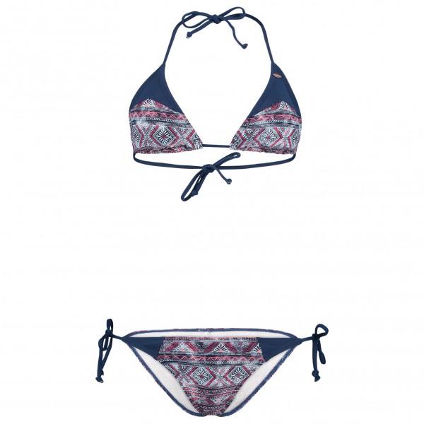O´Neill - Women´s Print Triangle Bikini Gr 36 grau/blau Sale Angebote Pappenheim