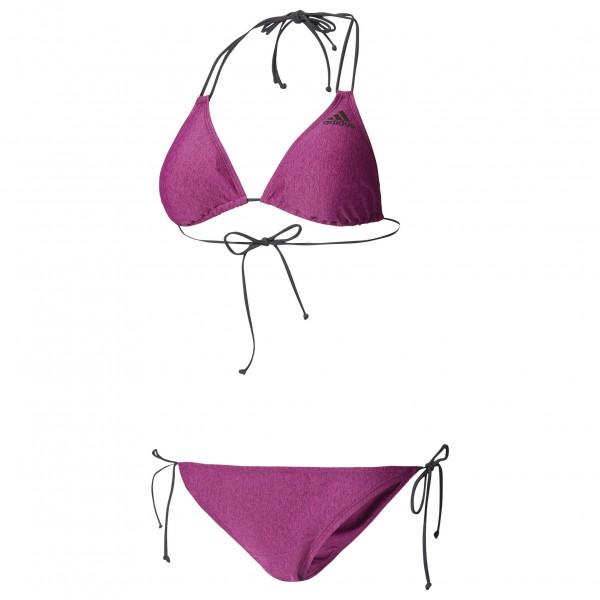 adidas Women´s Bwgri Solid Triangle Bikini Bikini maat 40 roze-grijs