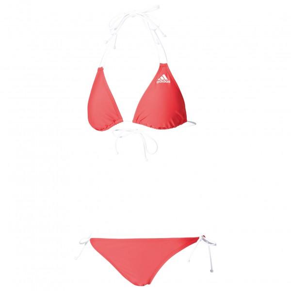 adidas Women´s Bwgri Solid Triangle Bikini Bikini maat 42 pink-wit