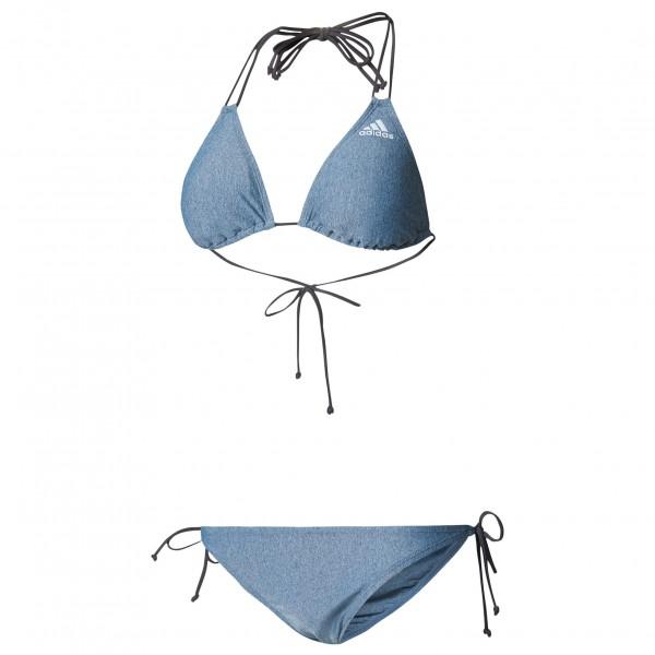 adidas Women´s Bwgri Solid Triangle Bikini Bikini maat 42 grijs-blauw