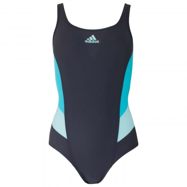 adidas Women´s Inspiration One Piece Badpak maat 40 zwart-blauw