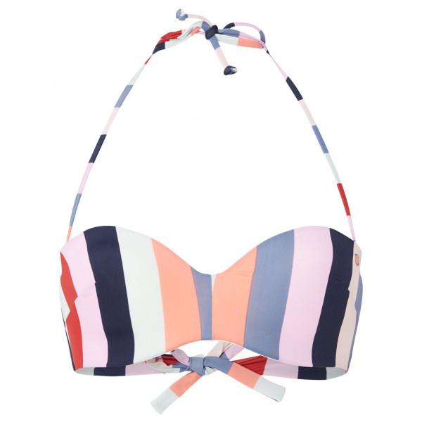 O'Neill - Women's Havaa Mix Bikini Top - Bikini-Top Gr 36 - Cup: C grau/weiß 0A8506-3950-36C