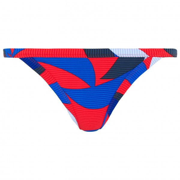 Seafolly - Bound Brazilian Pant - Bikini-Bottom Gr 10;12;14 blau/rot 40619-760