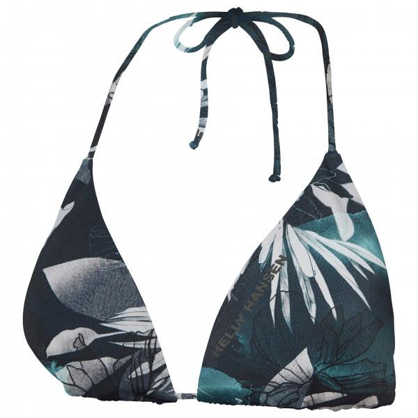 Helly Hansen - Women's Cascais Bikini Top - Haut de maillot taille M, noir/gris