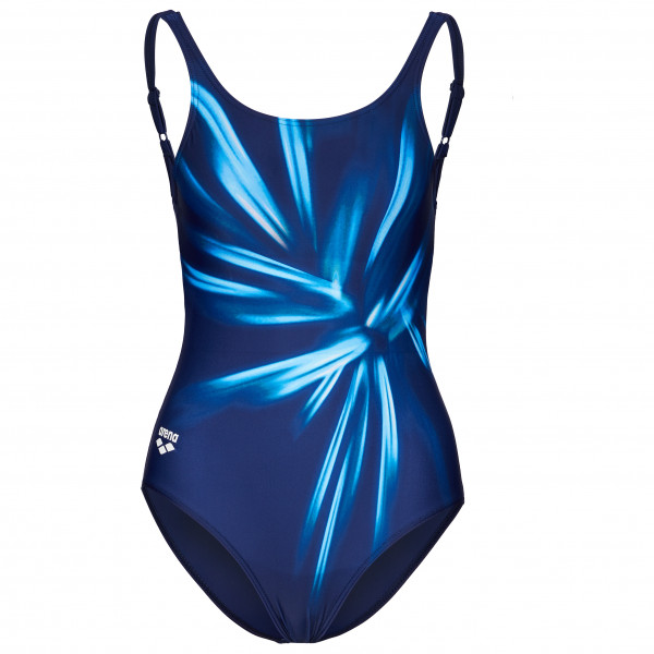 Arena - Womens Blossom U Back One Piece B - Swimsuit Size 42  Blue