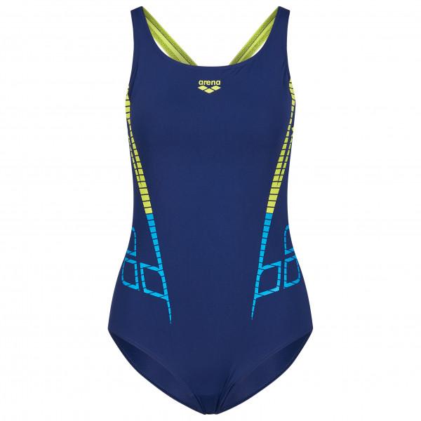 Arena - Womens Shiner Swim Pro Back One Piece B - Swimsuit Size 42  Blue