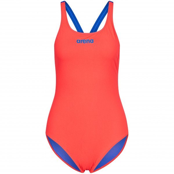 Arena - Womens Solid Swim Pro - Swimsuit Size 42  Red/pink