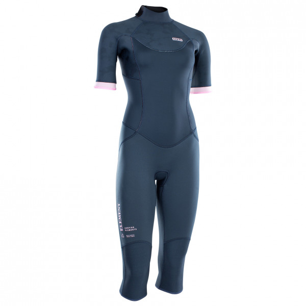 ION - Women's Wetsuit FL Element Overknee S/S 3/2 BZ DL - Neoprenanzug Gr 38 - M blau 48213-4518