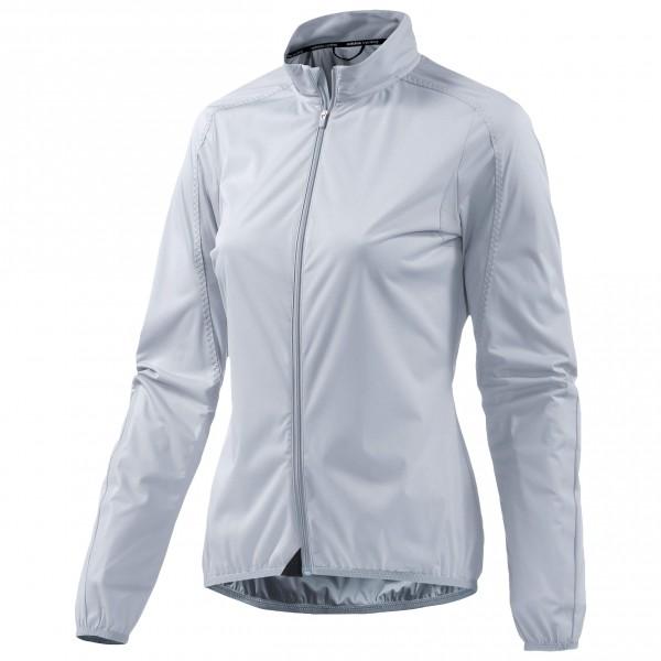 adidas Women´s Infinity Wind Jacket Fietsjack maat L grijs