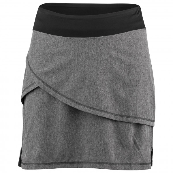 Garneau - Women's Bormio Skirt - Rock Gr XXL grau/schwarz