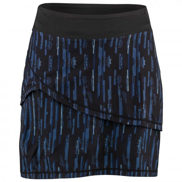 Garneau - Women's Bormio Skirt - Rock Gr L;M;XL;XS;XXL schwarz/blau;grau/schwarz