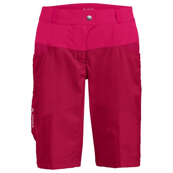 Vaude - Womens Qimsa Shorts - Cycling Bottoms Size 36  Pink/red