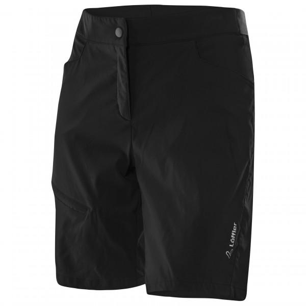 Lffler - Womens Bike Shorts Comfort Comfort-stretch-light - Cycling Bottoms Size 36  Black