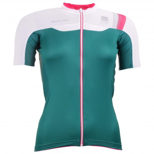 Sportful - Women´s Bodyfit Pro Jersey Radtrikot Gr XL grau/oliv Sale Angebote Horka