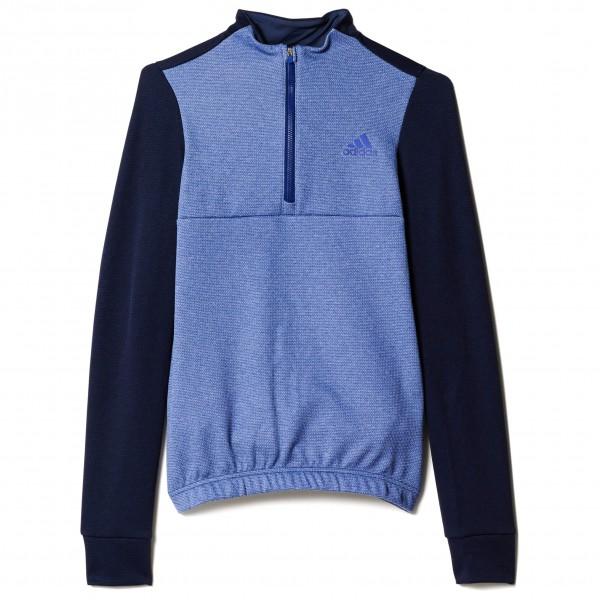 adidas Women´s Response Warmtefront Jersey Fietsshirt maat XS blauw- clear onix