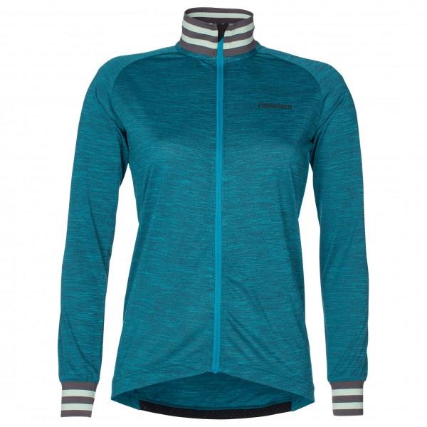 Zimtstern - Bike Jersey L/S Laizy Women Radtrikot Gr M;S schwarz;blau Sale Angebote Hornow-Wadelsdorf