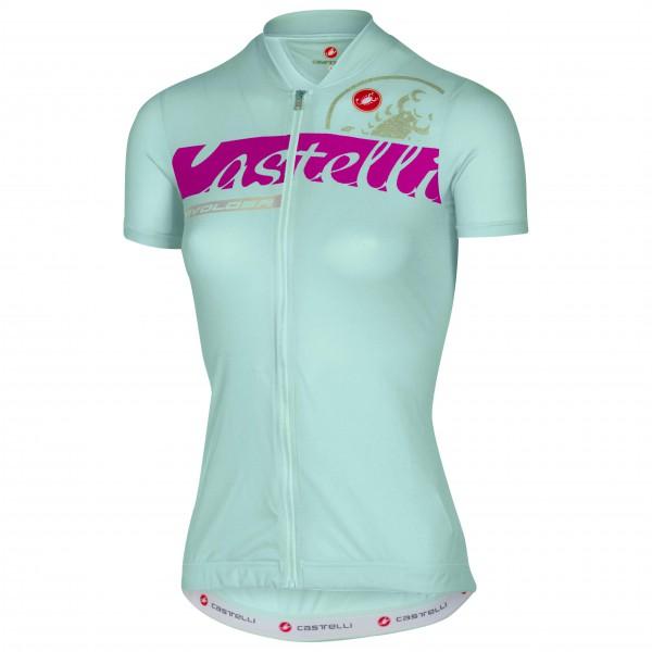 Castelli - Women´s Favolosa Jersey Radtrikot Gr L türkis/grau Sale Angebote