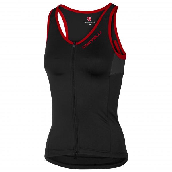 Castelli - Womens Solare Top - Cycling Singlet Size Xl  Black