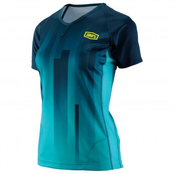 Image of 100% Airmatic Women Enduro/Trail Jersey Radtrikot Gr L türkis/blau