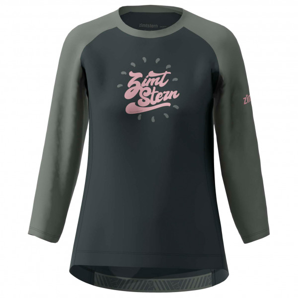 Zimtstern - Womens Pureflowz Shirt 3/4 - Cycling Jersey Size Xl  Black