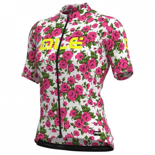 #Alé – Women's Roses Jersey Graphics – Radtrikot Gr L rosa/grau#