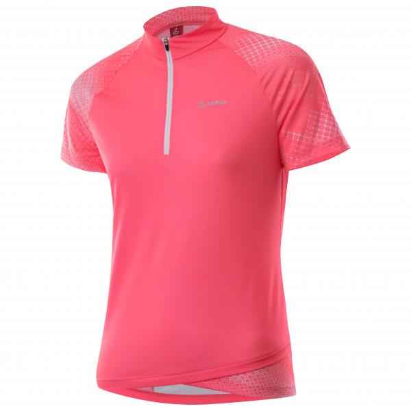Lffler - Womens Bike Shirt Half-zip Rise 3.0 - Cycling Jersey Size 44  Red/pink