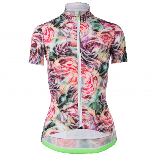 Q36.5 - Jersey Short Sleeve L1 Lady - Cycling Jersey Size S  Grey/pink