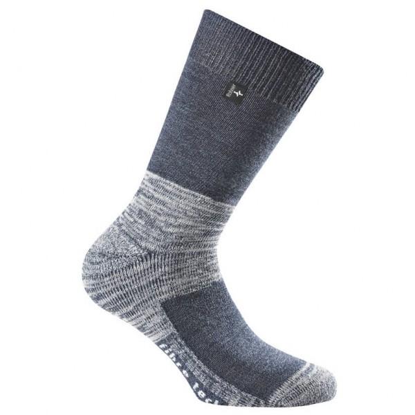 Rohner - Fibre Tech - Walking Socks Size 42-44 - L  Grey/black