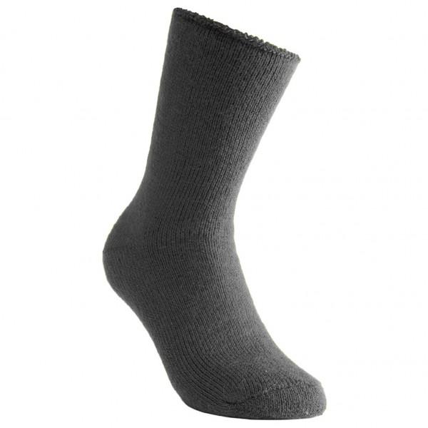#Woolpower – Socks 600 – Expeditionssocken Gr 36-39 schwarz/grau#
