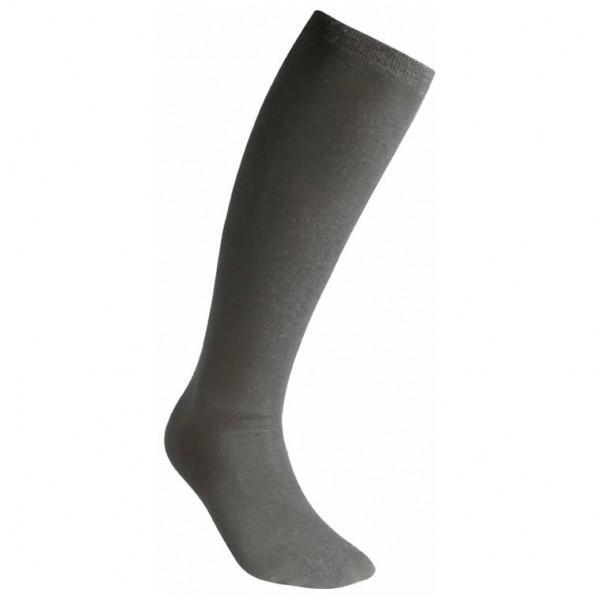 #Woolpower – Liner Knee-High – Wandersocken Gr 40-44 schwarz/grau#